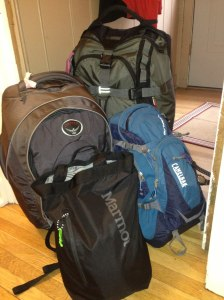 Bags are packed