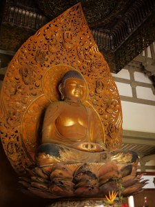 Buddha over 18 feet tall